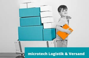 Logistik & Versand von microtech.de
